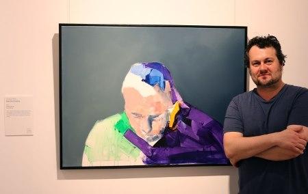 Steve Salo at 2015 Sunshine Coast Art Prize