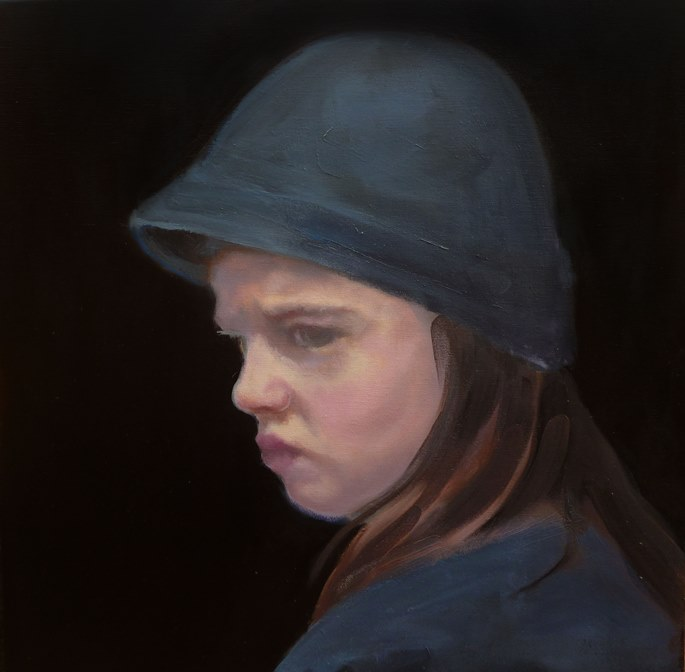 Steve Salo, 'Girl at the Showgrounds