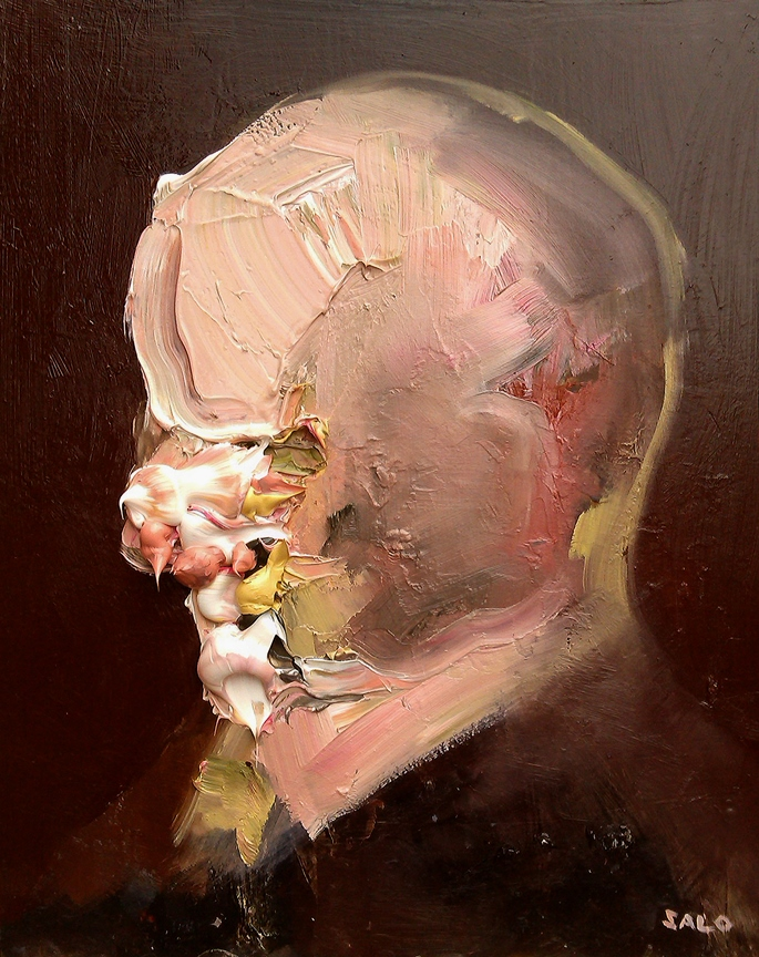 Steve Salo, Greed.exploration of paint and portraiture | STEVE SALO