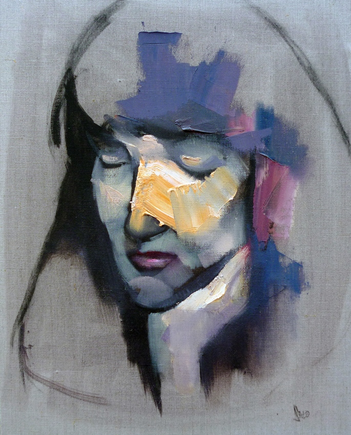 Steve Salo, Linda.exploration of paint and portraiture | STEVE SALO
