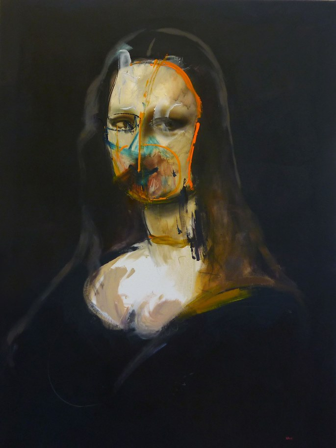 Steve Salo, Mona.exploration of paint and portraiture | STEVE SALO