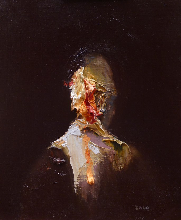 exploration of paint and portraiture | STEVE SALO