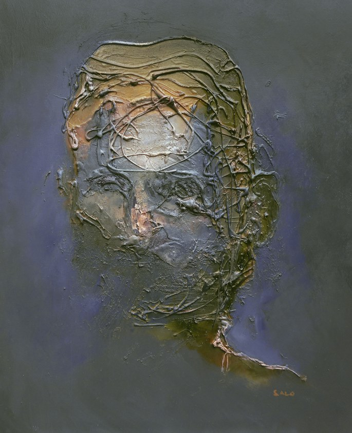 Steve Salo, Portrait of a Blind Man