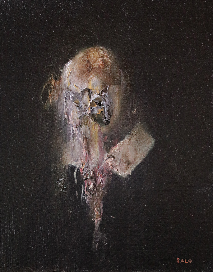 Steve Salo, The Chandos Portrait, after John Taylor
